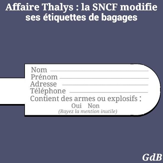 Etiquetage SNCF